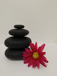 About Reflexology. Hot stone